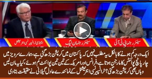 Corruption Didn't Increase in Pakistan - TIP Representative Adil Gillani Explains the Report