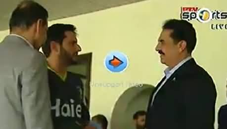 Cricket Match Between Pakistan Army & Pakistan Team, Army Chief As Special Guest