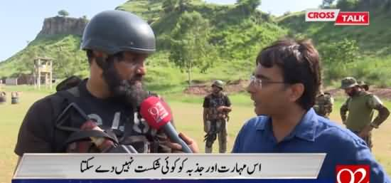 Cross Talk (Special Show With Pak Army Soldiers) - 6th September 2019