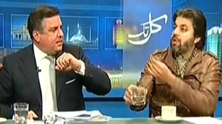 Danial Aziz Goes Out of Control in Live Show and Starts Shouting on Ali Muhammad Khan