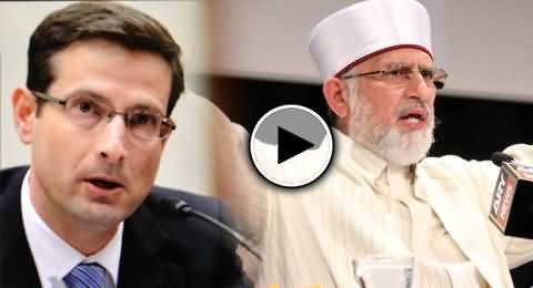 Daniel S Markey the Enemy of Pakistan is Controlling Dr. Tahir ul Qadri - Nusrat Javed Telling Amazing Story