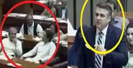 Daniyal Aziz badly criticizing Imran Khan In National Assembly