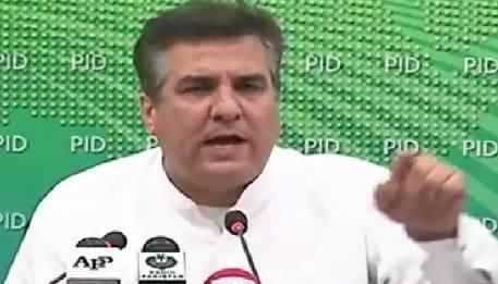 Daniyal Aziz Blasting Press Conference Against Imran Khan – 15th October 2015