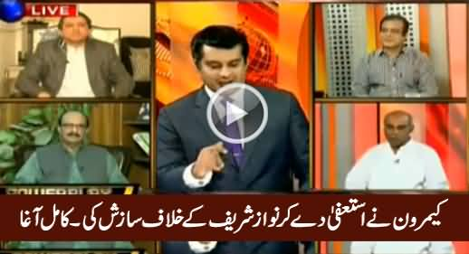 David Cameron Did Conspiracy Against Nawaz Sharif By Resigning - Kamal Ali Agha