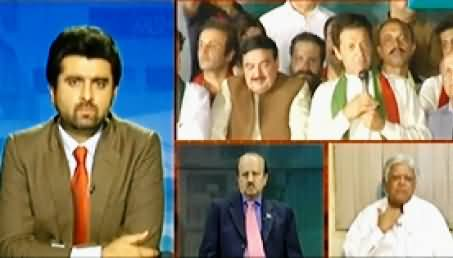 Dawn News (Azadi & Inqilab March Special Transmission) 11PM To 12AM – 7th September 2014