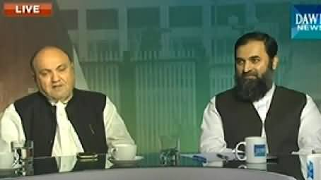 Dawn News (Azadi & Inqilab March Special Transmission) 8PM To 9PM - 4th September 2014