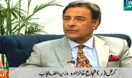 Dawn News (Col (R) Shujah Khanzada Special Interview) – 7th March 2015