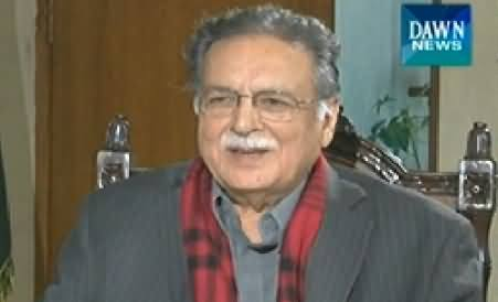Dawn News (Pervaiz Rasheed Exclusive Interview) – 26th November 2014