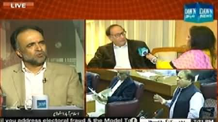 Dawn News (Special Transmission Azadi & Inqilab March) 8PM To 9PM - 5th September 2014