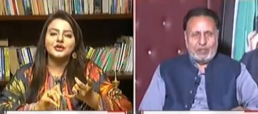 Debate Between Maiza Hameed And Mian Mehmood ur Rasheed