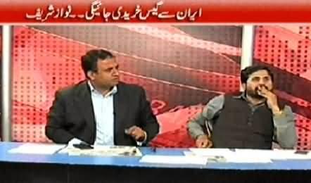 Debate With Nasir Habib (Barf Pighalne Lagi, Muzakrat Shuru) - 12th December 2014