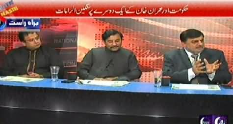 Debate With Nasir (Serious Allegations of PTI and PMLN) - 28th November 2014