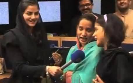 Desi Justin Girls Performing in Samaa News Office & Saying Thanks to Samaa News