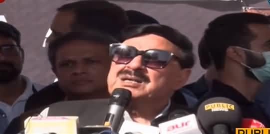 DG ISI Issue Will Be Settled Till Friday - Sheikh Rasheed's Media Talk