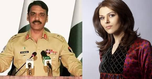 DG ISPR Asif Ghafoor Deletes His Tweets Against Sana Bucha & Tells The Reason Why He Deleted Them