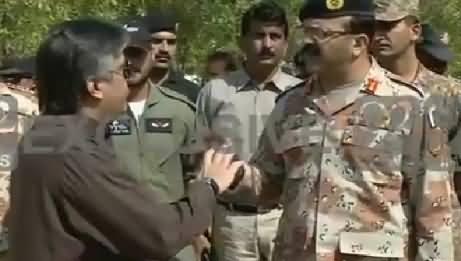 DG Rangers Sindh Maj. General Bilal Akbar Visited 150 Polling Stations In Badin