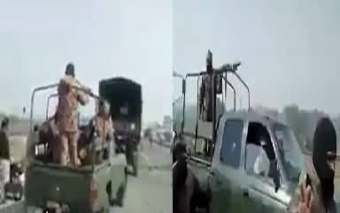 Dharne Mein Jab Pak Fauj Pohnchi To Dekhen Kia Hua
