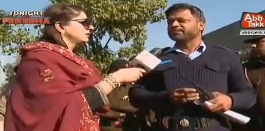 Dharne Waale Police Waale Ko Pakar Lein Tu Maarte Hain - A Policeman Telling