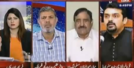 Don't Shout - Fareeha Idrees Gives Shut Up Call to PMLN Abdul Mannan