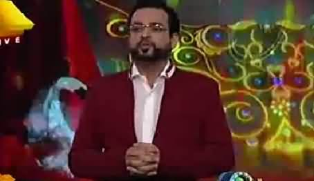 Dr. Aamir Liaquat Bashing Pakistani Cricket Team in Funny Style