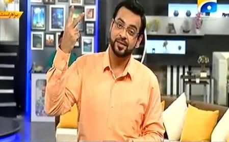 Dr. Aamir Liaquat Excellent Reply to Christian Community on Killing Two Muslims
