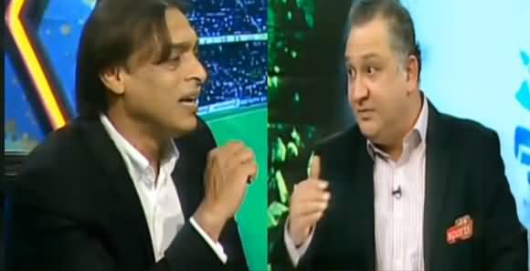 Dr. Nauman Niaz Insults Shoaib Akhtar During Live Transmission