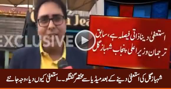 Dr. Shahbaz Gill's Media Talk After Resignation, Listen Why He Resigned