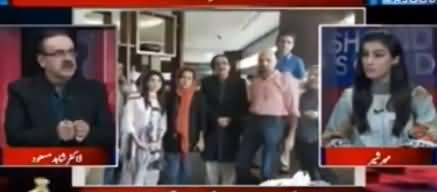 Dr. Shahid Masood Reveals Inside Story of Nawaz Sharif's Press Conference in Plane