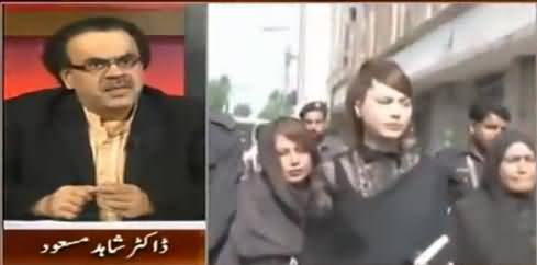 Dr. Shahid Masood Telling An Interesting Incident of Ayyan Ali That Happened in Court