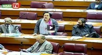 Dr Shireen Mazari's Speech at National Assembly - 6th February 2014