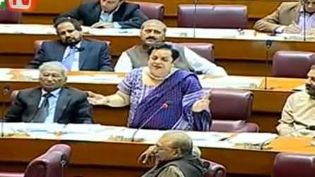 Dr Shireen Mazari Speech in National Assembly - 7th April 2014