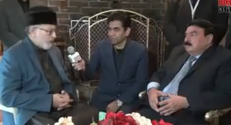 Dr. Tahir ul Qadri And Sheikh Rasheed Special Talk in Toronto, Canada