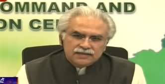 Dr. Zafar Mirza And Moeed Yousaf Press Briefing on Coronavirus Situation And Updates