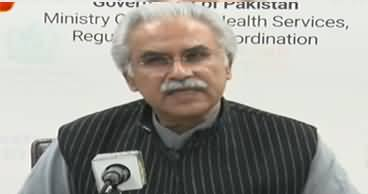 Dr. Zafar Mirza Latest Press Conference on Coronavirus - 22nd March 2020