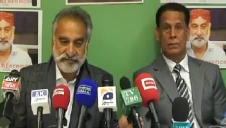 Dr. Zulfiqar Mirza Complete Press Conference In London - 5th March 2015