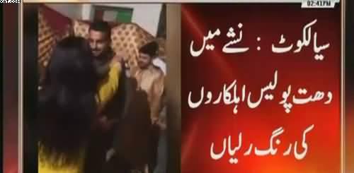 Drunk policeman in Sialkot caught doing indecent activities