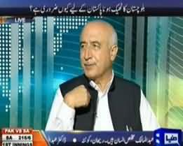 Dunya @ 8 with Malick - 10th June 2013 (New CM Balochistan Exclusive Interview)