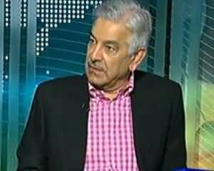 Dunya @ 8 with Malick - 20th August 2013 (Khuwaja Asif Exclusive Interview)