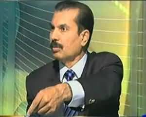 Dunya @ 8 with Malick - 8th August 2013 (Kiya Pakistan apni jung haar chuka hai?)