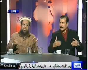 Dunya @ 8 with Malick (Agar Maulana Samiulhaq Nakam Huwey To??) - 2nd January 2014