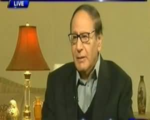 Dunya @ 8 with Malick (Chaudhry Shujaat Hussain Exclusive Interview) - 30 December 2013