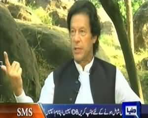 Dunya @ 8 with Malick (Exclusive Interview of Imran Khan Chairman PTI) - 9th October 2013