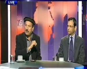 Dunya @ 8 with Malick (Is State Afraif of the Terrorists) - 24th December 2013