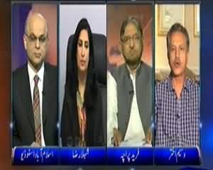 Dunya @ 8 with Malick (Karachi Mein Operation Jari Aur Lasho Ka Girna Bhi!) - 4th December 2013