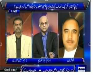 Dunya @ 8 with Malick (Kya PTI Ki Drone Policy Ka Koi Nateja Nikle Ga?) - 28th November 2013