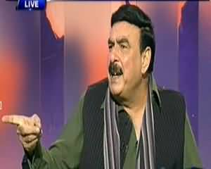 Dunya @ 8 with Malick (Sheikh Rasheed Talks On Rawalpindi Incident) - 18th November 2013
