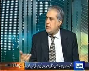 Dunya @ 8 with Malick (Wazir-e-Khazana Ishaq Dar Exclusive Interview) - 13th August 2013
