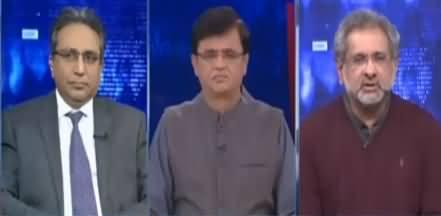 Dunya Kamran Khan Kay Sath (Nadeem Babar Vs Shahid Khaqan Abbasi) - 18th December 2020