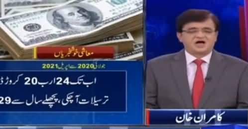 Dunya Kamran Khan Kay Sath (Pakistan's Economy) - 3rd June 2021