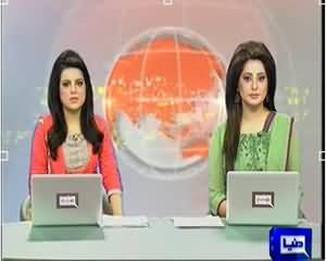 Dunya News 9pm Bulletin – 23th January 2014